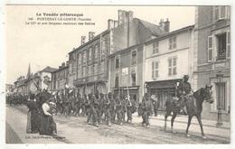 85 - FONTENAY-LE-COMTE - Le 137e Et Son Drapeau Rentrant Des Sables - Jehly-Poupin 540 - Fontenay Le Comte