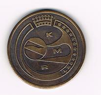 //  GEDENKINGSPENNING  KMR  12 STERREN - Elongated Coins