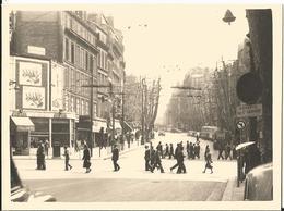 Photo - Marseille - Carrefour Cannebière Et Boulevard Garibaldi En 1957 - Animée Bouche Du Rhone - 13 - - Luoghi