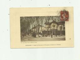 33 - ARCACHON - Angle Du Boulevard D'haussez Et Avenue Du Chateau Animé Bon état - Arcachon