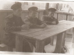 RUSSIA. #1459  A PHOTO. GERMANY. MILITARY FOR WOODEN TABLE. *** - Proyectores De Cine