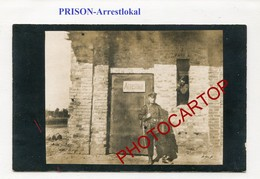 PRISON Militaire-Arrestlokal-Non Situee-CARTE PHOTO Allemande-Guerre 14-18-1WK-Militaria- - Oorlog 1914-18
