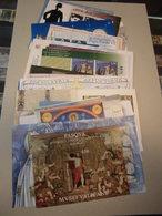 Sammlung Vatikan Kleinbogen Blocks Markenheftchen Ca 2010-2017 Postfrisch - Vatican