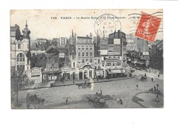 PARIS 18ème. - Le Moulin Rouge Et La Place Blanche. (Cabaret) - Arrondissement: 18