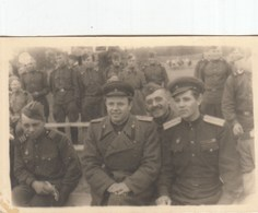 RUSSIA. #1462 A PHOTO. GERMANY. HAPPY WINNERS, MILITARY, AWARDS, REST.   *** - Proyectores De Cine