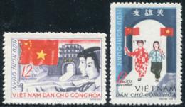 Vietnam Du Nord 1965  YT 457-458 ; Mi# 399-400 MNG (*) - Viêt-Nam