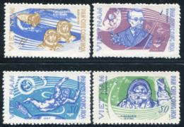 Vietnam Du Nord 1965  YT 459-462 ; Mi# 401-404 MNG (*) - Viêt-Nam