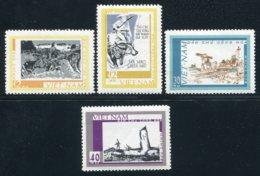Vietnam Du Nord 1968  YT 619-622 ; Mi# 559-562 MNG (*) - Viêt-Nam