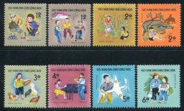 Vietnam Du Nord 1970  YT 660-667 ; Mi# 600-607 MNG (*) - Viêt-Nam