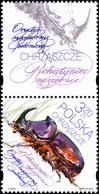 Poland 2018 Fi 4869-4870 Mi 5019-5020 Beetles - 1944-.... República