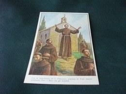 MISSIONE PRO APOSTOLICHE MISSIONI FRANCESCANE BENEDIZIONE DI S. FRANCESCO ILLUSTRATORE M. BARBERIS - Missioni