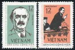 Vietnam Du Nord 1972  YT 756-757 ; Mi# 699-700 MNG (*) - Viêt-Nam
