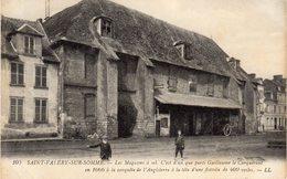 SAINT-VALERY-SUR-SOMME - LES MAGASINS A SEL- C'EST D'ICI QUE PARTIT GUILLAUME LE CONQUERANT En 1066 - Saint Valery Sur Somme