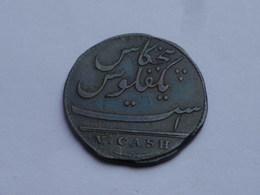 Inde Britannique   Cinq Cash  V Présidence Madras  1803 (soho)   KM# 316 Flan Légérement Rogné - Inde