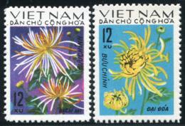 Vietnam Du Nord 1974  YT 826-827 ; Mi# 774-775  MNG (*) - Viêt-Nam