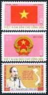 Vietnam Du Nord 1975  YT 865-867 ; Mi# 821-823  MNG (*) - Viêt-Nam