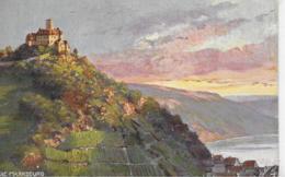 AK 0209  Die Marksburg Am Rhein - Oilette-Künstlerkarte Um 1910-20 - Schlösser