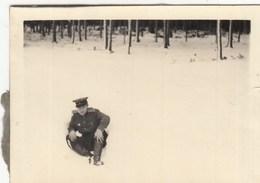 UKRAINE. #1473 A PHOTO. MILITARY IN SNOW. WINTER.  *** - Projecteurs De Films