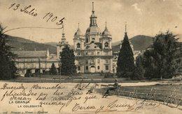 LA GRANJA. LA COLEGIATA. - HAUSER Y MENET - Segovia