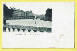 * Brussel - Bruxelles - Brussels * (VED) Palais Royal, Koninklijk Paleis, Royal Palace, Old, Rare - Brussel (Stad)