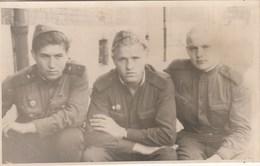 UKRAINE. #1475 A PHOTO. SOVIET ARMY. SOLDIERS. MILITARY. *** - Proyectores De Cine