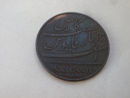 Inde Britannique   20 Cash  XX  Présidence Madras  1803 (soho)   KM# 321 Poids Inferieur 11.77 Gr - Inde