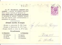 CARTOLINA POSTALE  DEL 1963  VIAGGIATA - 6. 1946-.. Repubblica