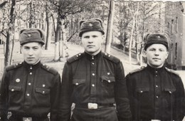 UKRAINE. #1476  A PHOTO. SOVIET ARMY. SOLDIERS. MILITARY. *** - Proyectores De Cine