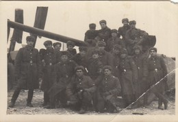 UKRAINE. #1477 A PHOTO. SOVIET ARMY. ARTILLERY. A GUN.  *** - Film Projectors