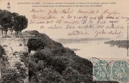ST-FLORENT-le-VIEIL. - La Loire Au Pied De La Promenade, La Colonne De Bonchamp. Carte RARE - Autres Communes