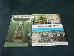 HOTEL BRIGNOLE VIA DEL CORALLO  BRIGNOLE SALUTI DA GENOVA - Alberghi & Ristoranti