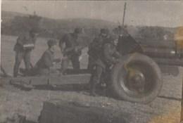 UKRAINE. #1479  A PHOTO. SOVIET ARMY. ARTILLERY. GUN, SHEETS. *** - Proyectores De Cine