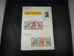 "BELG.1966 E98  : "" Europese Atletiekkampioenschappen Te Budapest / Championnats D'Europe D'athlétisme à Budapest "" - Commemorative Labels"