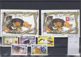 Insel Man Michel Cat.No. Mnh/** 668/672 + Sheet 25+25I - Man (Ile De)