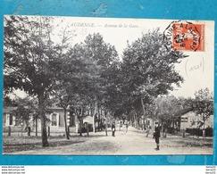 CPA - AUDENGE - Avenue De La Gare - Animée, Buvette De La Gare, Pub PICON - Autres Communes