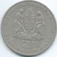 Tanzania - 20 Shillings - 1981 - 20th Anniversary Of Independence - KM13 - Tanzanie