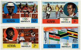 Ref. 27539 * NEW *  - KENYA . 1976. GAMES OF THE XXI OLYMPIAD. MONTREAL 1976. 21 JUEGOS OLIMPICOS VERANO MONTREAL 1976 - Kenia (1963-...)