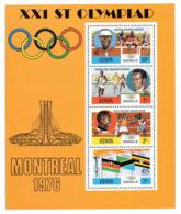 Ref. 39670 * NEW *  - KENYA . 1976. GAMES OF THE XXI OLYMPIAD. MONTREAL 1976. 21 JUEGOS OLIMPICOS VERANO MONTREAL 1976 - Kenia (1963-...)