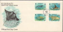 Ref. 572540 * NEW *  - KIRIBATI . 1991. MARINE FAUNA PROTECTION. PROTECCION DE LA FAUNA MARINA - Kiribati (1979-...)