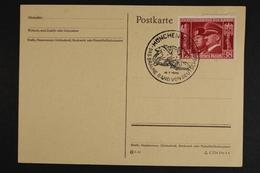 Deutsches Reich, MiNr. 763, SST Braunes Band, Postkarte - Deutschland