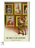 DONALD MC. GILL SIGNED POSTCARD - THE SPIRIT OF HIS ANCESTOR - N. 1327 - 1910s (BG187) - Illustrateurs & Photographes