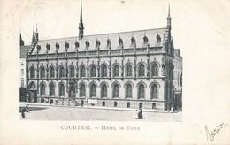 CPA - Belgique - Kortrijk - Courtrai - Hôtel De Ville - Kortrijk