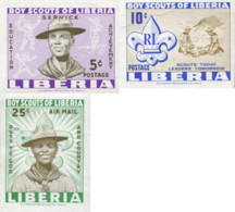 Ref. 18884 * NEW *  - LIBERIA . 1961. SCOUTS IN LIBERIA. ESCULTISMO EN LIBERIA - Liberia