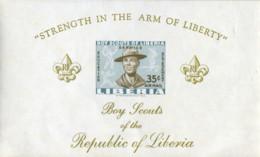 Ref. 18885 * NEW *  - LIBERIA . 1961. SCOUTS IN LIBERIA. ESCULTISMO EN LIBERIA - Liberia