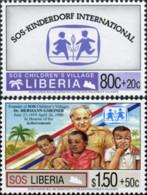 Ref. 333970 * NEW *  - LIBERIA . 1995. 10th ANNIVERSARY OF THE ASSOCIATION FOR THE BLIND. 10 ANIVERSARIO DE LA ASOCIACIO - Liberia