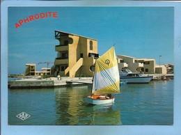 Port Leucate (11) Aphrodite-Village Les Marinas 2 Scans Club Naturiste Voilier Yacht Canoë Ou Kayak - Leucate
