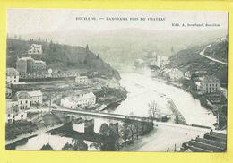 * Bouillon (Luxembourg - La Wallonie) * (Edit A. Bourland) Panorama Pris Du Chateau, Kasteel, Canal, Quai, Pont, Bridge - Bouillon