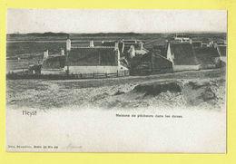 * Heist Aan Zee - Heyst (Kust - Littoral) * (Nels, Série 28, Nr 89) Maisons De Pecheurs Dans Les Dunes, Duinen, TOP Rare - Heist