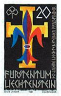 Ref. 77639 * NEW *  - LIECHTENSTEIN . 1981. 50th ANNIVERSARY OF THE SCOUTS IN LIECHTENSTEIN. 50 ANIVERSARIO DEL ESCULTIS - Liechtenstein