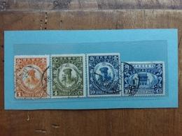 CINA 1926 - 4 Valori Timbrati + Spese Postali - 1912-1949 Repubblica